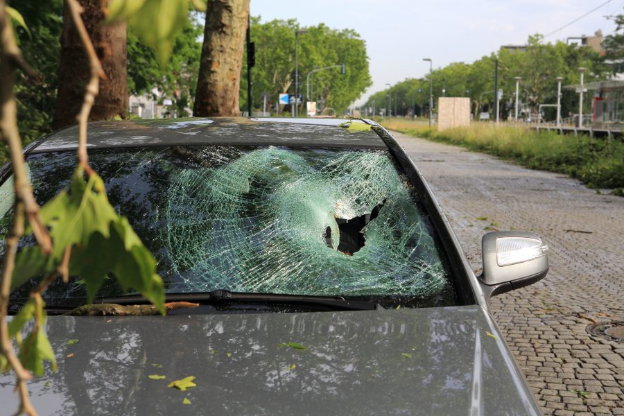 How to Get Windshield Replacement After Storm Damage